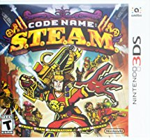 3DS: CODE NAME S.T.E.A.M. (STEAM) (NM) (COMPLETE)